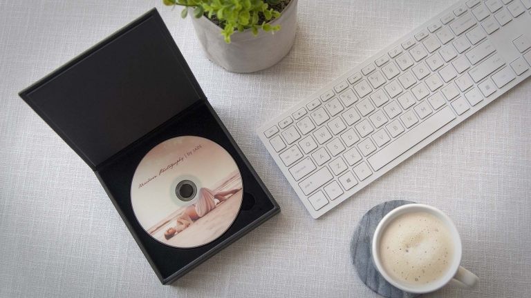 Present a client's DVD in a beautiful box