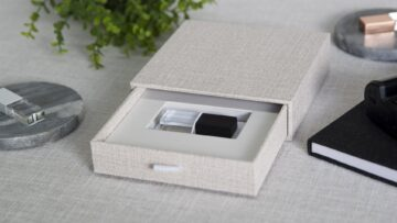 A clean and simply designed box
