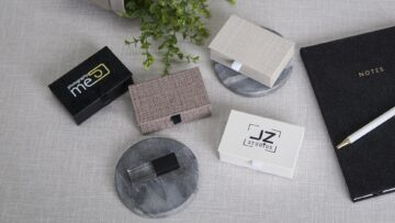 Customise your Economy USB Boxes with our Logo Printing Service
