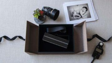 An 8x10 Exposure Box with an Acrylic Mat Holder Insert