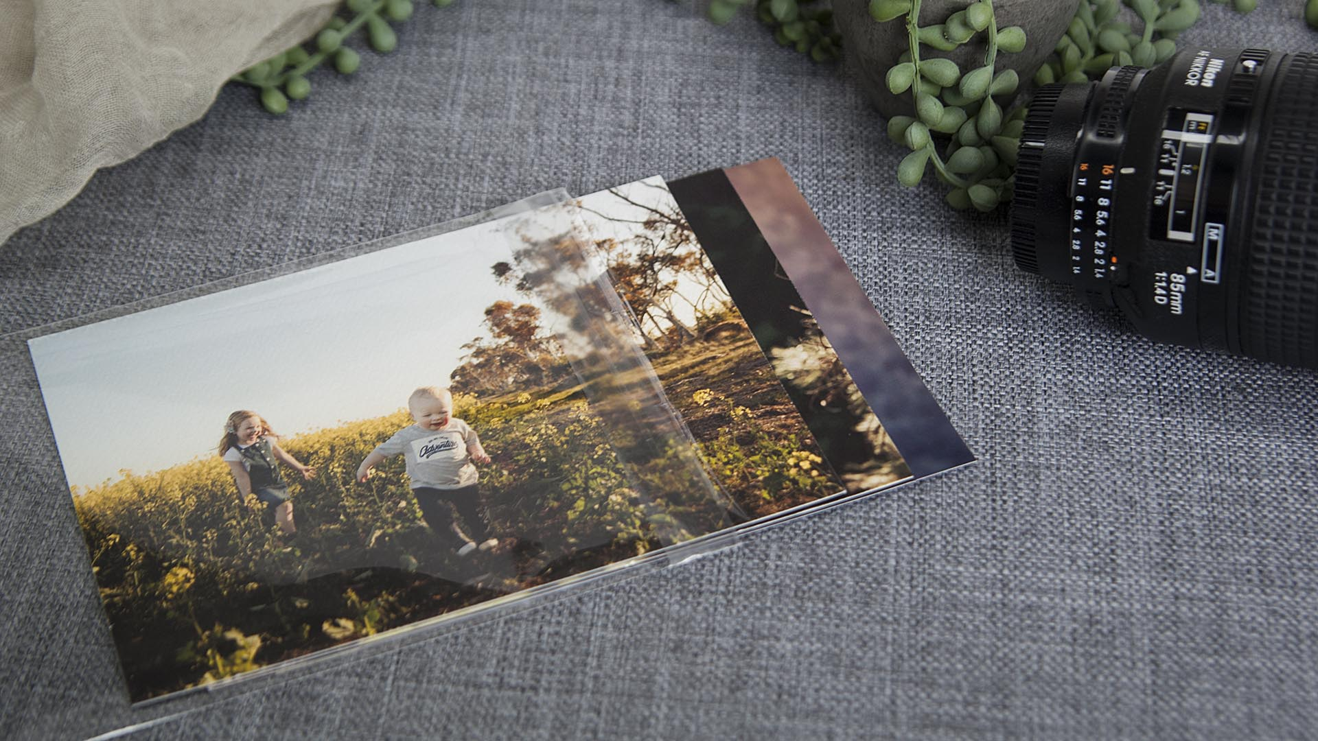 Protect your prints with Plastic Sleeves