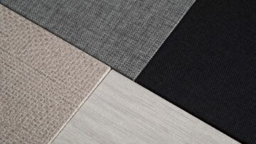 Available in 4 textured finishes