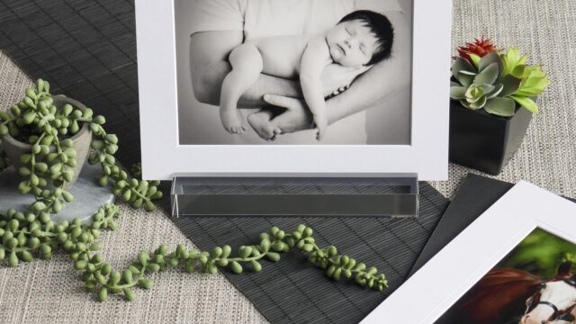 Display your matted print in style
