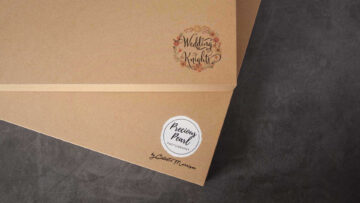 Logo Printing is available on Luxury Craft Boxes