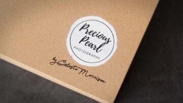 Luxury Craft Folio Box with Logo Printing