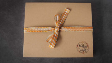 Complementary Orange-toned Ribbon