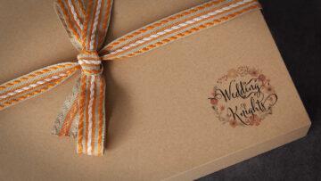 Logo Printing on a Luxury Craft Folio Box