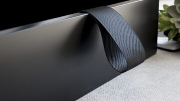 Featuring a black lift-out ribbon to assist with removing Mats
