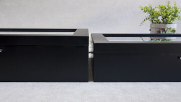 11x14 Black Signature Boxes are available in 2 depths to hold up to 20 or 25 Mats