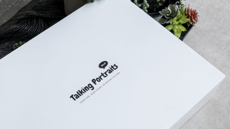 Brand your Video Folio Box with your logo or personalise it for your client