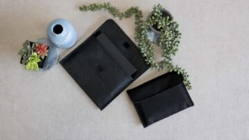 Each Concertina Folio size comes with a matching pouch